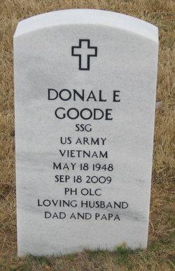 Donal Eugene Goode