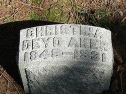Christina Jane <I>Deyo</I> Aker