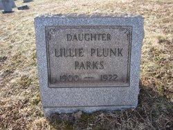 Lillie Plunk Parks