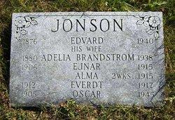 Sophia Adelia <I>Brandstrom</I> Jonson