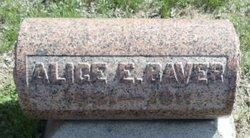 Alice E <I>Early</I> Baver