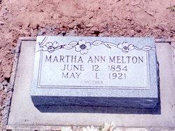 Martha Ann <I>Mathis</I> Melton