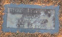 Thelma Florence Adams