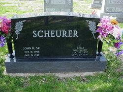 John H Scheurer, Sr