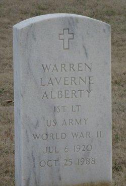 Warren Laverne Alberty