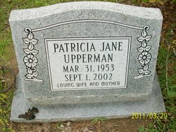 Patricia Jane Upperman