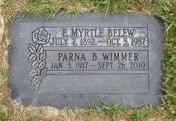 Effie Myrtle <I>Brown</I> Belew