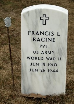 Pvt Francis L. Racine