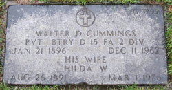 Hilda W <I>Erickson</I> Cummings