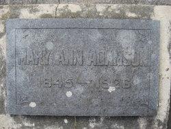 Mary Ann Adamson