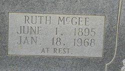 Ruth <I>McGee</I> Roebuck