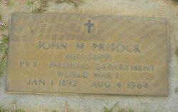 John M Prisock