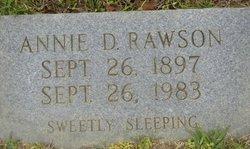 Annie D Rawson