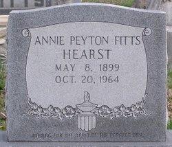 Anna Peyton <I>Fitts</I> Hearst