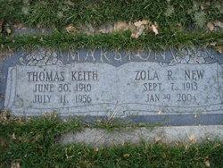 Thomas Keith Marston