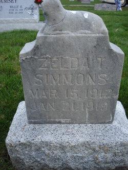 Zelda Thornley Simmons