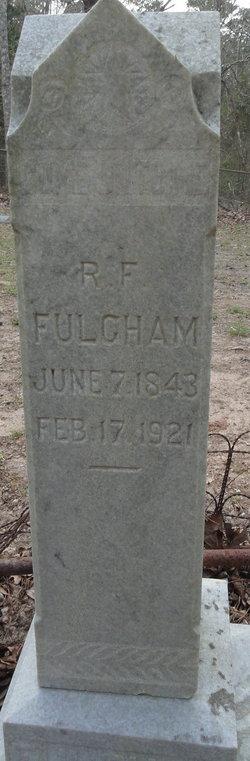 "Robert Franklin ""Frank"" Fulgham"