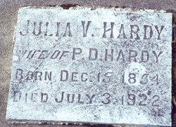 Julia Victoria <I>Lewis</I> Hardy