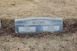 Mrs Nannie <I>Brock</I> Moore
