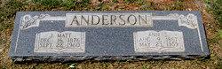 "James Madison ""J Matt"" Anderson"
