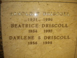 Beatrice <I>Johnson</I> Driscoll