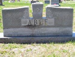 Ethel <I>Bishop</I> Able