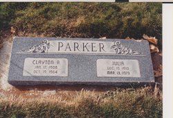 Julia <I>Woodhouse</I> Parker