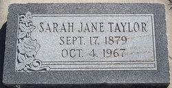 Sarah J Taylor