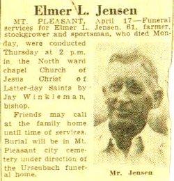 Elmer L Jensen