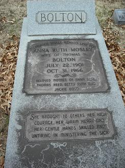 Anna Ruth <I>Mosely</I> Bolton
