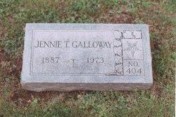 Jennie <I>Teal</I> Galloway