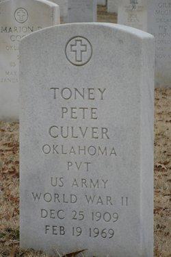 Toney Pete Culver