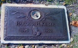 Harold Hoyt Keiser