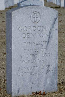 Gordon Lee Denton
