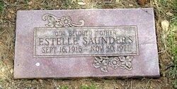 Estelle <I>Washburn</I> Saunders
