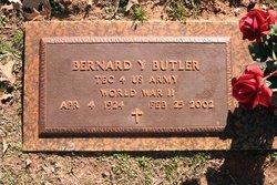 "Bernard Y. ""Bud"" Butler"