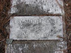 Ruby <I>Moore</I> Coles