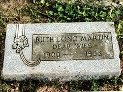 Ruth <I>Long</I> Martin