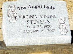 """Virginia Adeline """"Angel lady"""" <I>Fay</I> Stevens"""