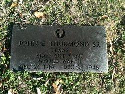 John E Thurmond, Sr