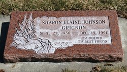 Sharon Elaine <I>Johnson</I> Grignon