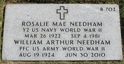 """William A. """"Bill"""" Needham, Jr"""