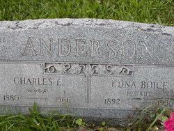 Edna <I>Boice</I> Anderson