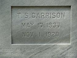 """Capt Thomas Smith """"T. S."""" Garrison"""
