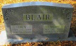 Erline <I>Bowman</I> Blair