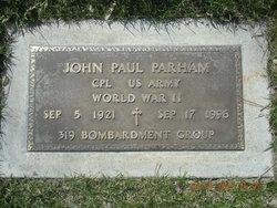 """John Paul """"Big John"""" Parham"""