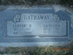Ila Maureen <I>Nelson</I> Hathaway