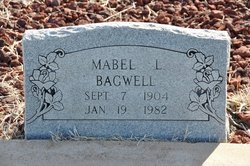 Mabel Lucille <I>Jones</I> Bagwell