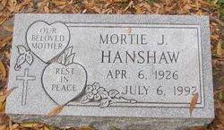 Mortie Jean <I>Blitch</I> Hanshaw