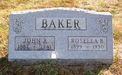 Rosella B <I>Porter</I> Baker